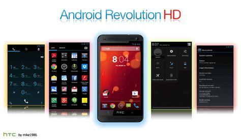 android revolution hd android revolution hd 6 1 edition rom