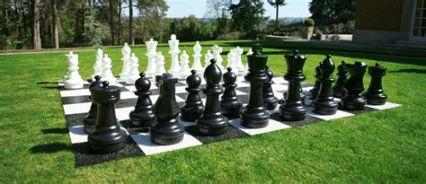Play Backyard Soccer Giant Chess Pieces Giant Chess Set Outdoor Chess Set