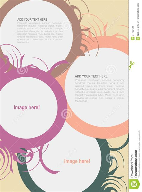 design leaflet free download leaflet design stock vector image of folder brochure