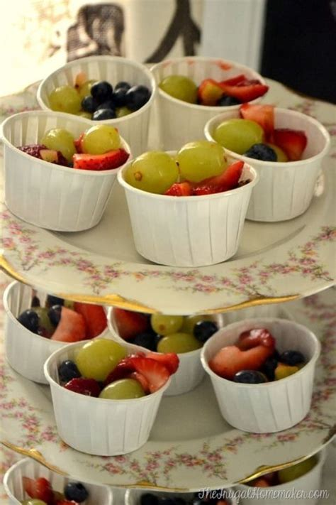 Fruit Salad Ideas For Bridal Shower by Individual Fruit Salad Cups Bridal Shower