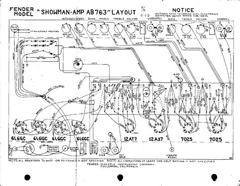 layout html pdf fender showman ab763 layout service manual download