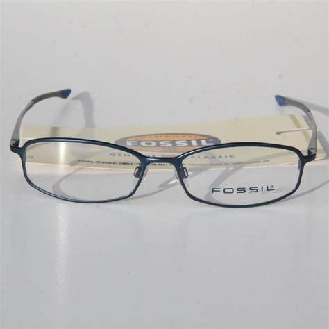 brille ohne gestell fossil brillen gestelle brillengestell 12 modelle neu uvp
