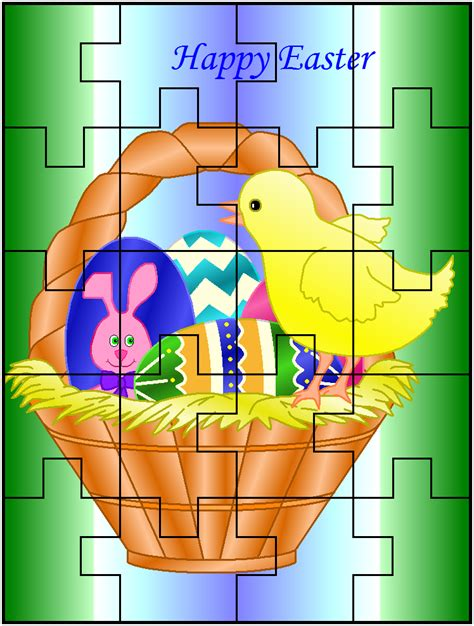 printable easter jigsaw puzzles free printables christmas puzzles page 2 search results