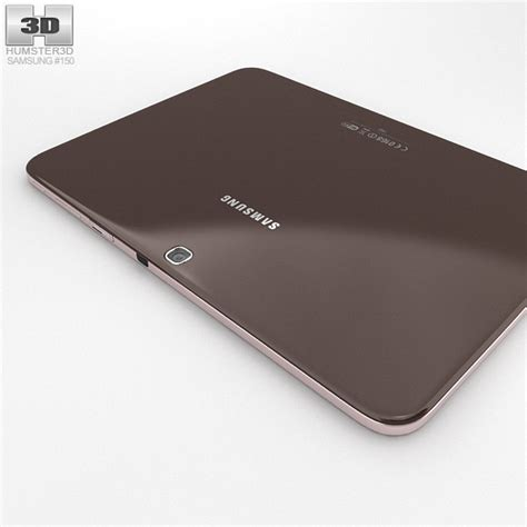 Samsung Tab 3 10 Inchi samsung galaxy tab 3 10 1 inch gold brown 3d model hum3d