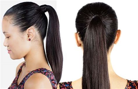 ponytail hairstyles wiki teen hairstyles girls bangs with long hair
