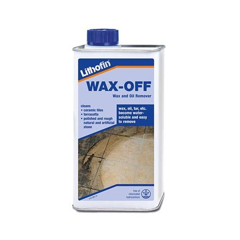 Tile Wax Remover Lithofin Wax Off   Marshalls