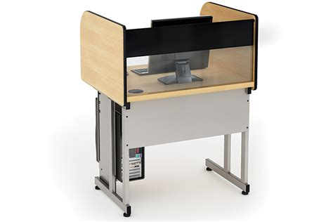 Computer Comforts by Icu Carrel Classroom Furniture Computer Comforts