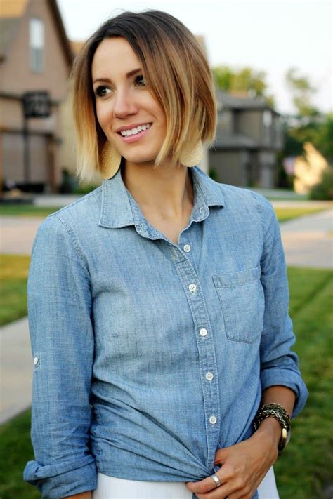 blonde ombre chin length hair 18 best hairstyles images on pinterest hair ideas
