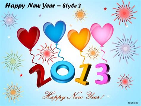 template powerpoint happy new year powerpoint template education happy new year ppt slides