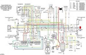 suzuki gs550 wiring diagram motorcycles