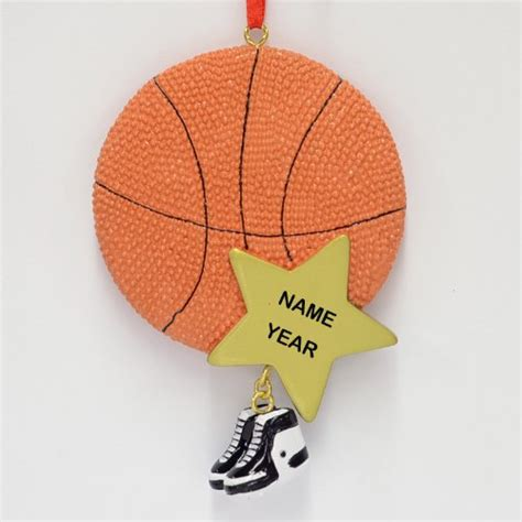 gifts for basketball fans personalized basketball ornament great gifts for