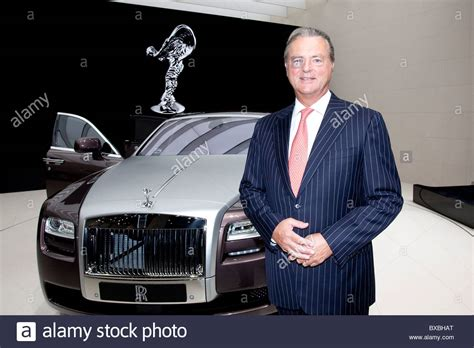 Ceo Of Bmw by Tom Purves Chairman And Ceo Of The Rolls Royce Auto Brand