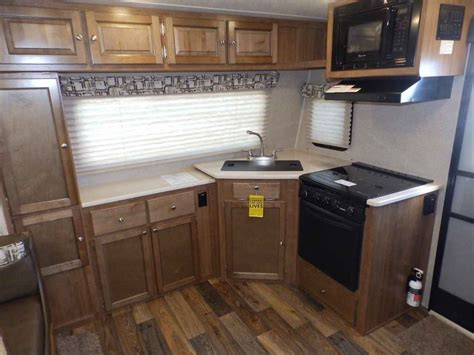 travel trailers front kitchen rear bedroom 2017 new rockwood 2506s 1 slide front kitchen rear