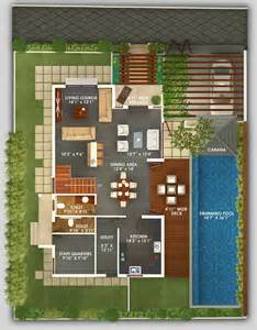 Bali Style House Floor Plans Bali House Floor Plans House Design Ideas