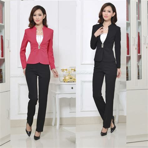 female working suits 2015 high quality new 2015 women business suits formal office