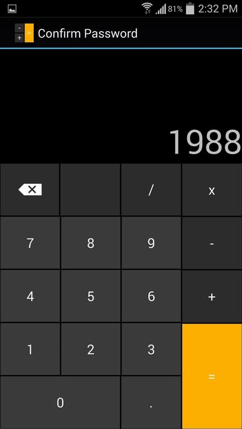 android calculator app this calculator is really a secret app safe for android 171 samsung gs4