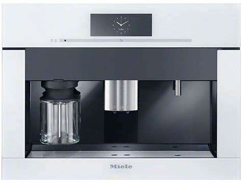 Miele Einbau Kaffeevollautomat Mit Festwasseranschluss by Kaffeevollautomaten Miele Cva 6805 Brillantweiss Miele