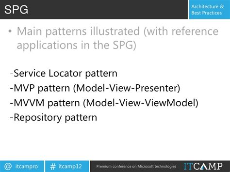 repository pattern service locator developing sharepoint 2010 and silverlight web parts