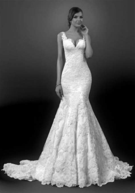 White/Ivory Mermaid Wedding Dress Bridal Gown Custom Size 4 6 8 10 12 14 16 18+ | eBay