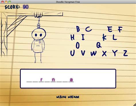 doodle hangman free for windows ultimate hangman mac