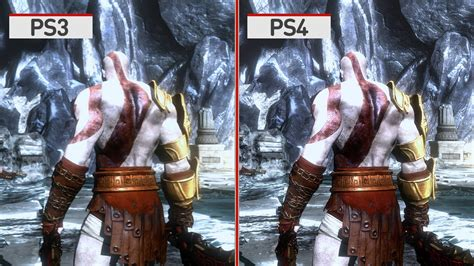 Bd Ps4 Second God Of War Remastered god of war 3 remastered graphics comparison