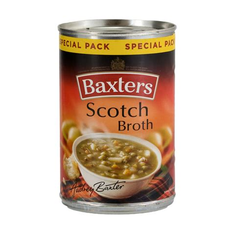 Baxters Scotch Broth 380g   Tinned Food   B&M Stores