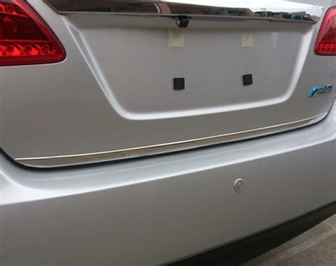Trunk Lid Accessories Chrome Datsun Go Series nissan sentra trunk lid autos post