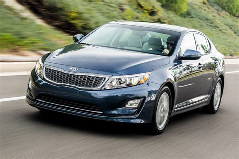kia optima 2014 kia optima hybrid gets updated pictures and detail