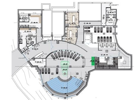 floor plan of spa resort spa design mid cost model