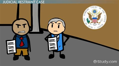 exle of judicial restraint judicial restraint definition exles cases lesson transcript study