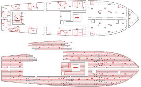 pt boat laser cut deck - Pt Boat Deck Layout