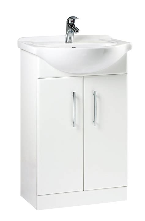 B Q White Kitchen Sinks by B Q White Vanity Unit Basin Departments Diy At B Q
