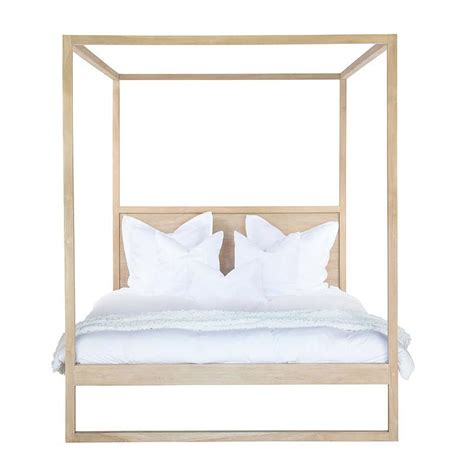 strand bedroom furniture bed queen or king strand 4 poster in teak by uniqwa ebay