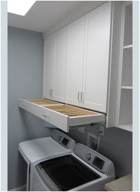 10 Practical Diy Projects For Laundry Room Organization Laundry Room Cabinets Diy