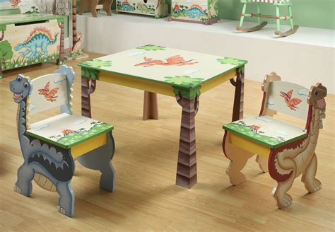 childrens table and bench set childrens dinosaur kingdom table and 2 chairs set baby n