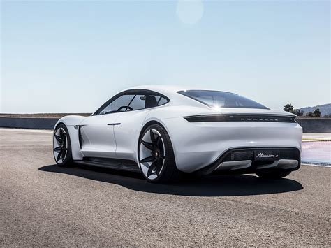 porsche electric mission e porsche s electric mission e gets its own superchargers