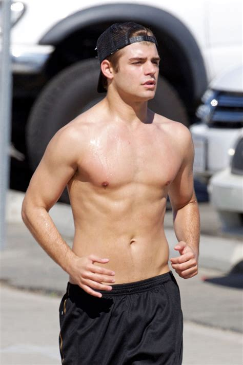clayton com garrett clayton shirtless beach jog oh yes i am
