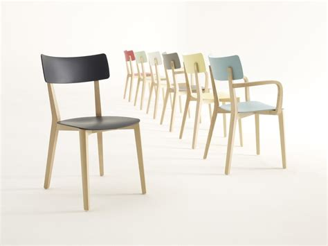 Due Chairs by Due Wooden Chair By Brunner Design Wolfgang C R Mezger
