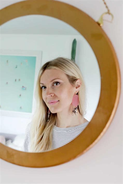 Geometric Acrylic Earring geometric acrylic earring diy a beautiful mess