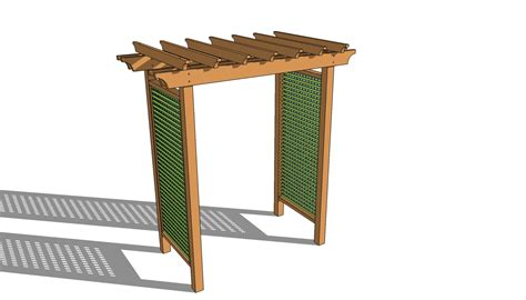 trellis plans free pdf diy wood arbor plans wine storage rack plans woodideas