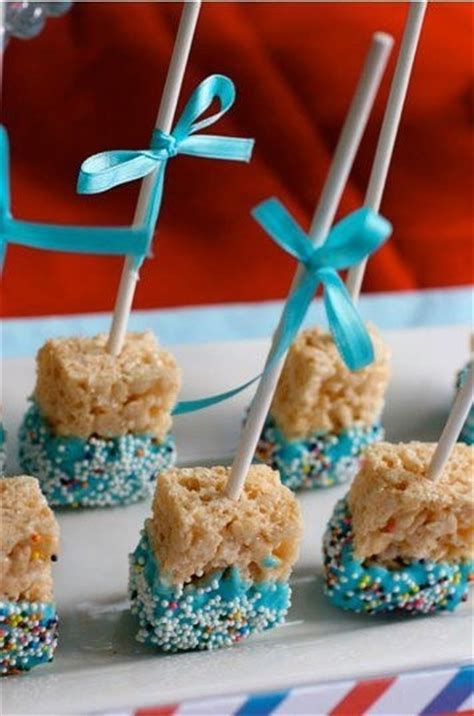 baby shower rice krispie treats pictures photos and