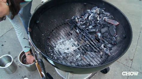 how to build a weber grill how to turn your charcoal grill into a smoker chow tip