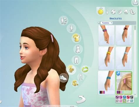 pulled up curls recolours at seven sims sims 4 updates pulled up curls clips recolors at my stuff 187 sims 4 updates