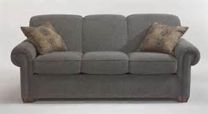 flexsteel living room fabric sofa 5988 30 kettle river