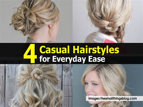casual hairstyles for everyday videos 4 casual hairstyles for everyday ease