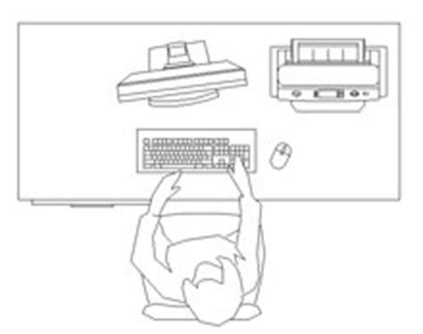 scrivanie dwg computer dwg postazioni pc