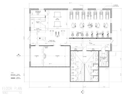 united center floor plan refurbishment adaptive reuse designed by uv arch wellness center floor plan cloquet us