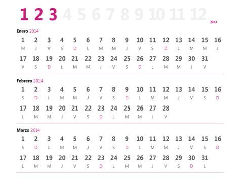 Calendario Trimestral 2017 Calendario Trimestral De 2015 Office Templates