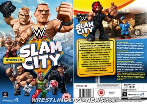 wwe biography dvds list full content listing for wwe slam city dvd next update