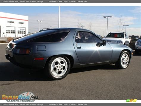 Pacific Porsche Pacific Blue Metallic 1982 Porsche 928 Photo 2